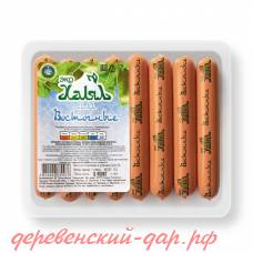 Сосиски Восточные Эко-Халял замор. вакуумная упаковка 0.4 кг